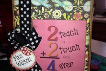 Teacher gift ideas / by Sue Wright