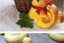 Velikonoční zajíčci pečení