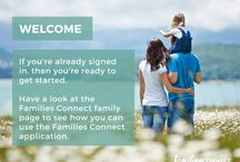 Families Connect App / The Families Connect App is the online tool helping people stay in touch with those who matter most—families and friends. Using the app members document and share life's important moments privately and securely with only the family and friends they select.