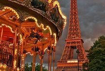 Pariserhjul... Karruseller... Rutchebaner...
