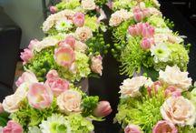 Aranjamente florale cu sticls