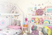 Lovely baby room deco