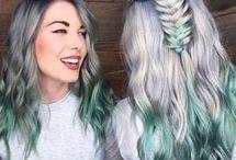 Unicorn and Mermaid hair
