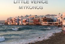 Sunset time Mykonos