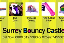 Surrey Bouncy Castle Hire Woking / Offering all the professional services, Surrey Bouncy Castle Hire established in 2008 and is a well-established hire company of bouncy castles, combos, inflatable slides and has a wide range of sizes and themes to best suit you. We provide reliable service. Our bouncy castles and inflatable are suitable for both indoor and outdoor venues for different occasions and parties in summers and winters to provide lots of entertainment and fun for children of different age groups and adults.