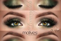 Make up - hazel eyes
