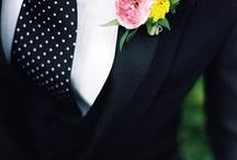 Wedding men's suit concept