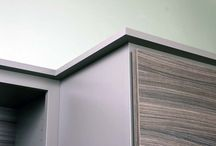 City style cabinetry / Our Woodland Cabinetry lines Contemporary style