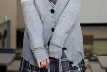 Uniformes y moda coreana