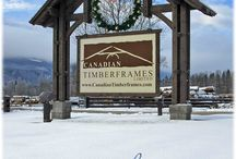 Happy Holidays / Happy Holidays & Warm Wishes for a fabulous New Year from all of us at Canadian Timberframes!