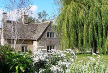Culls Cottage Garden / The large garden at Culls Cottage celebrates all things white, with places to sit, dine or roll on the grass.