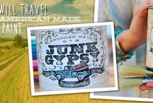 PAINT!!!! junk gypsy chalk & clay paint / by JuNK GyPSY