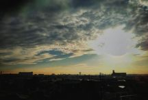 今朝も暖かい。 It's fine and warm morning.写真