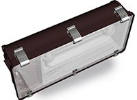Induction Gas Stations/Tunnel / The Tunnel Fixtures is an ideal choice for replacement of common High Pressure Sodium and Metal Halide tunnel fixtures.gas station light electronic ballast features a high >0.98 power factor for cool, efficient, flicker free operation.