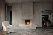 Decor - Fireplaces/Wood stacking