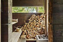 Szurpiły sauna cabin