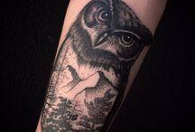 Tattoo Paysage