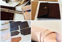Travail du cuir / Tutos et patrons pour travailler le cuir
