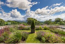 Outdoor Living / Inspiration for planning your ideal alfresco living space from properties currently on the market in The Lake District & North Lancashire