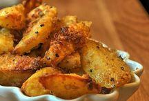 knusprige Kartoffel