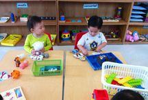 Classroom 7 / This is what happens in our Toddler Class.