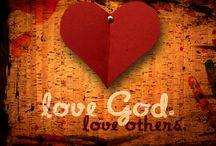 Love of God, Jesus and Holy Spirit. / Spiritual encouragement