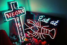 luces y neones