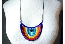Collier - Perles de rocailles