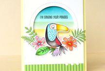 Animal birthday cards