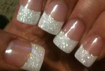 Acrylic French Polish Nails