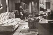 art nouveau lounge