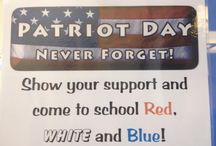 Patriot Day Event / A day which spells 'Bravery'. First School celebrates Patriot Day. Check out!