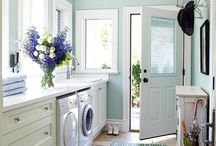 laundry room / by Angela- Unexpected Elegance