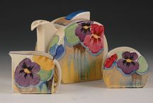 Clarice cliff / Pottery /art deco & ceramics  / by Christine bowden