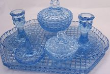 glass vanity sets