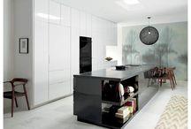 The 7th Surface of Interior Design / Seamless Kitchen Design Creates Today's Stealth Kitchen Using the 7th Surface of Interior Design