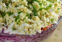 sledzie pod pierzynką  salatka warstwowa