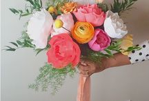 Alternative Wedding Bouquets / There's lots of awesome alternatives to fresh flower bouquets, here are a few... http://bit.ly/1E1WyK4