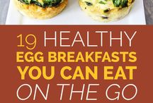 Eggs / Egg breakfast ideas