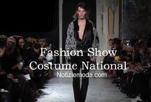 Costume National uomo / Costume National collezione e catalogo primavera estate e autunno inverno abiti abbigliamento accessori scarpe borse sfilata uomo.