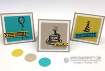 Stampin Up Set - Sketched Birthday