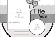 scrapbook layouts / by Kim Otto
