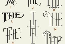 Fonts & Typography / by Liza