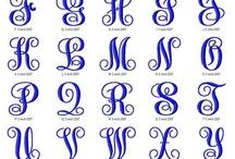 Fontes para monogramas