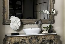 Artistic faucets / The new bathroom concept include artistic faucets. Creative bathroom designs with exclusive details