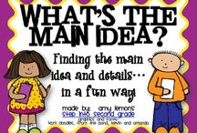 Main Idea / by Stephanie Rollins Rohl