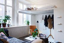DIY interior ideas / Small space interior design Home decor