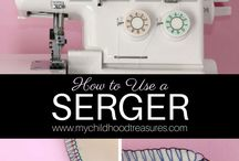 How to Use a Sewing Machine / Learn how to use a sewing machine with these great articles aimed at absolute beginners.  how to use a sewing machine, sewing machine for beginners, how to thread a sewing machine, sewing for beginners, sewing machine basics, sewing machine repair