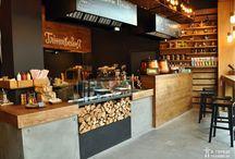 Интерьеры кафе