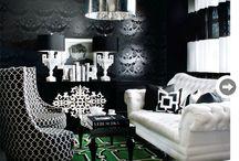 Interior mood- Hollywood glam / Interior styling